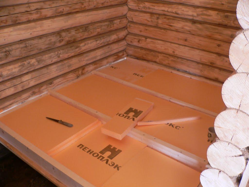 Как сделать деревянный пол теплый фото 891