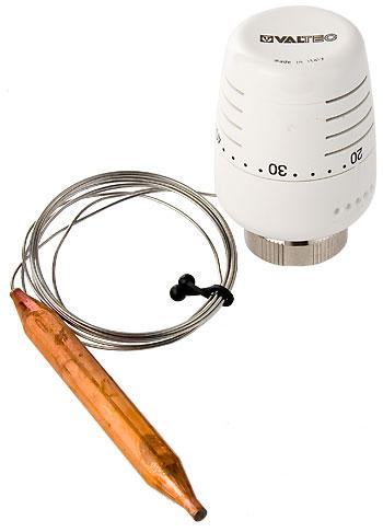 В этой модели используется удаленный термодатчик