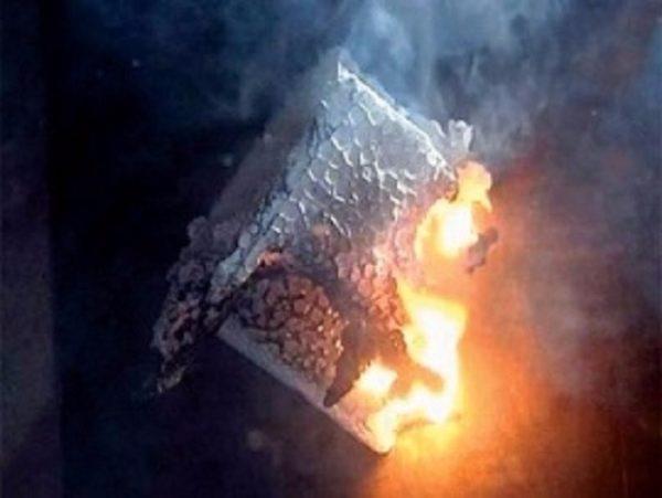 В процессе горения пенопласт выделяет токсины