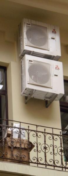 В теплом климате удобнее всего отапливаться обычными инверторными кондиционерами.