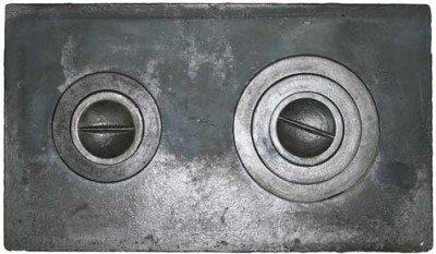 Варочная плита со съемными конфорками намного удобней, чем сплошная.