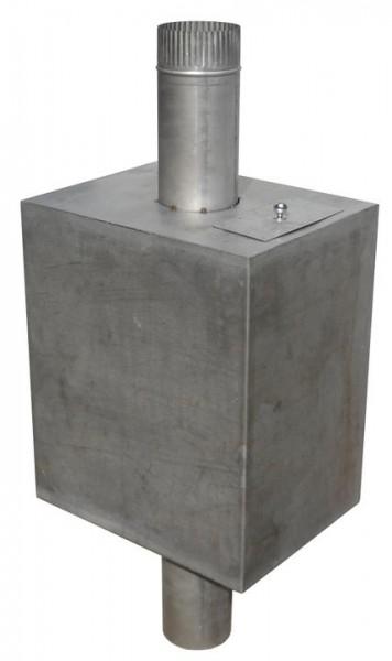 Водогрейный бак из листовой стали