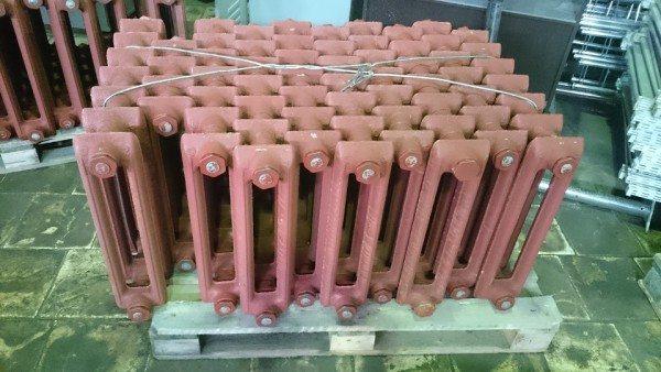 Восстановленные чугунные радиаторы ничем не уступают новым.