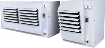 воздушное газовое отопление