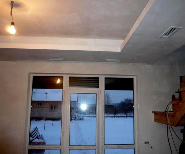 Воздушное отопление после завершения чистовой отделки.
