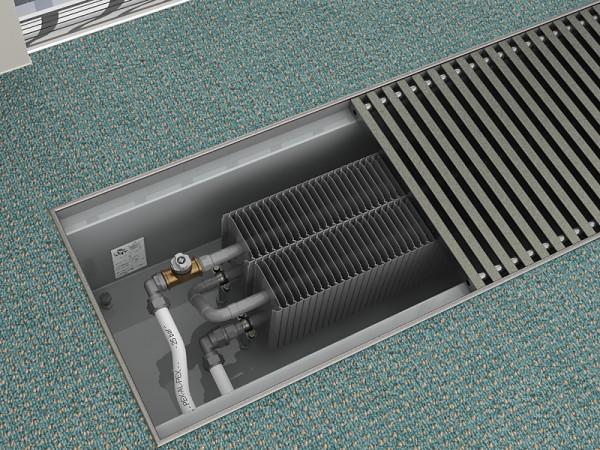 встраиваемые в пол радиаторы отопления