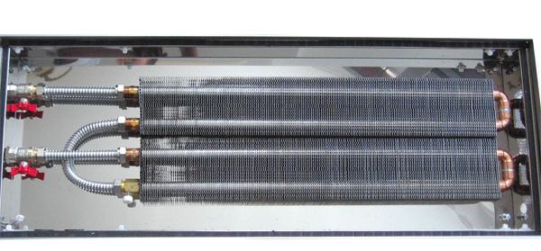 встроенные в пол радиаторы отопления