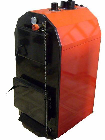 Яик КСТГЖ - 16А после установки горелки в топливник способен перейти с дров на газ или солярку.