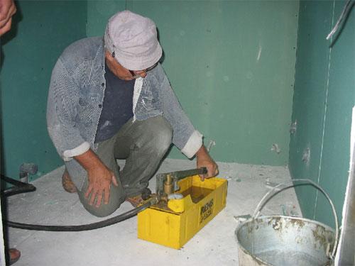Закачка герметика в отопительную систему