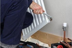 Замена радиатора в отопительном контуре