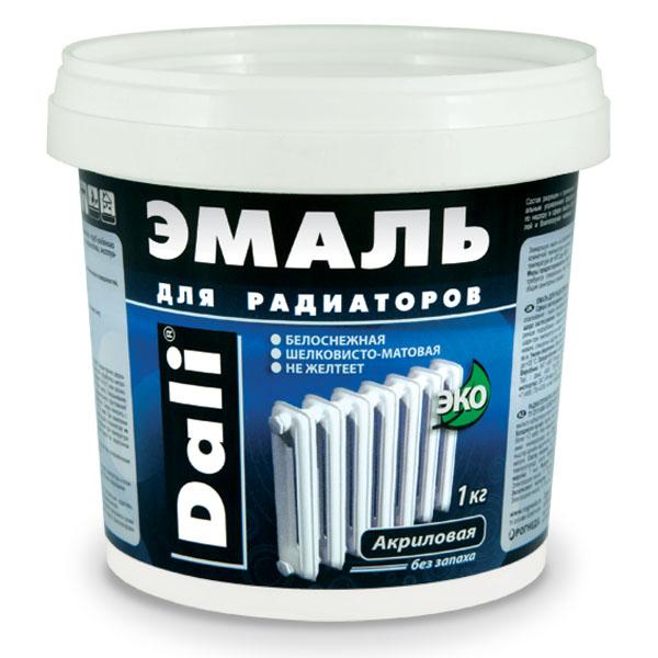 Акриловая краска для радиаторов без запаха в удобном контейнере