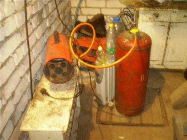 Альтернативные системы отопления гаража.