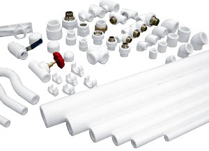 армированные полипропиленовые трубы для отопления
