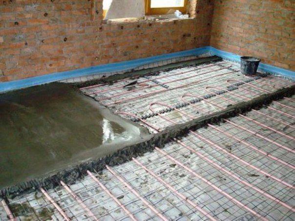 Креслення на теплу підлогу вага будинку. поверховий план сис.