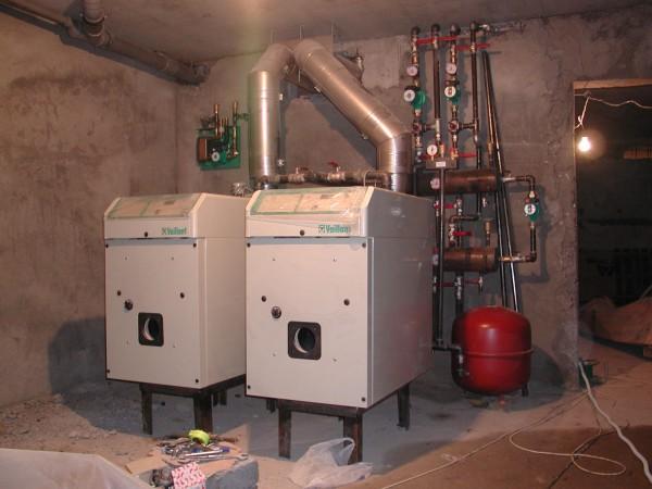 Автономная система отопления на базе дизельных котлов