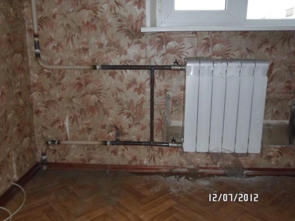 биметаллический радиатор отопления рифар