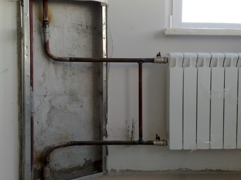 Слив отопления в частном доме