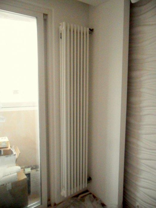 вертикальные радиаторы фото
