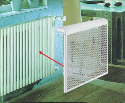 декоративная решетка на радиатор отопления