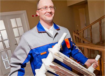 Демонтаж и монтаж отопления должны проводить специалисты