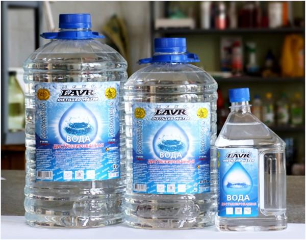 Дистиллированная вода для систем отопления