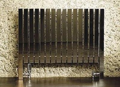 Дизайнерский радиатор с хромированным покрытием
