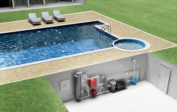 Для котла нет особой разницы, что греть – дом или воду в бассейне