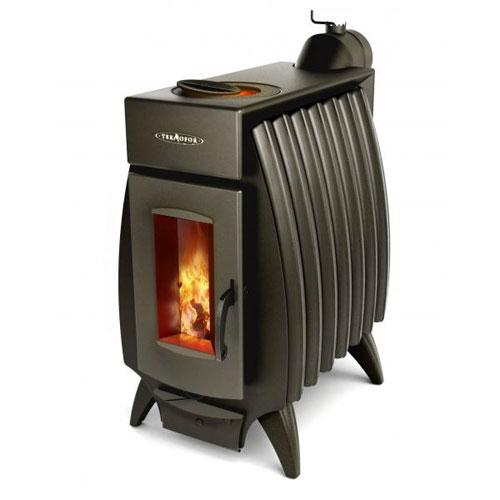 Дровяной тепловой агрегат для обогрева объектов загородной недвижимости