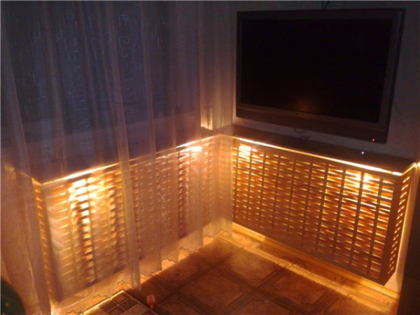 экраны на радиаторы отопления
