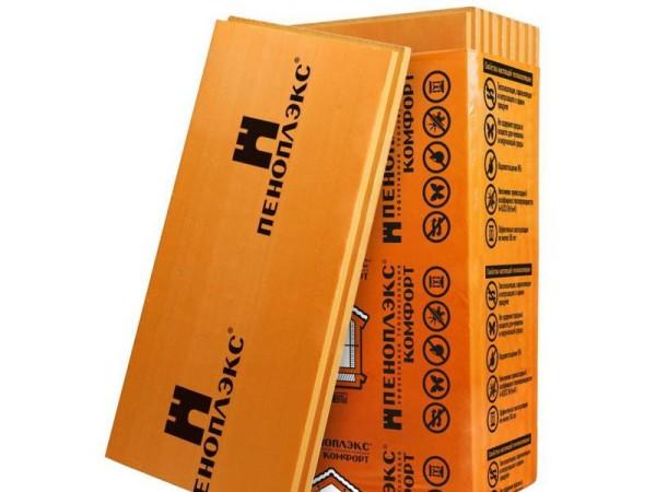 Экструдированный пенополистирол от торговой марки «Пеноплэкс».
