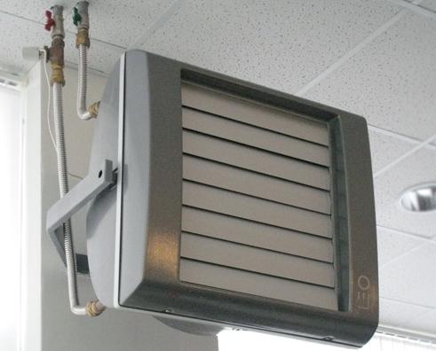электрические воздушно отопительные агрегаты