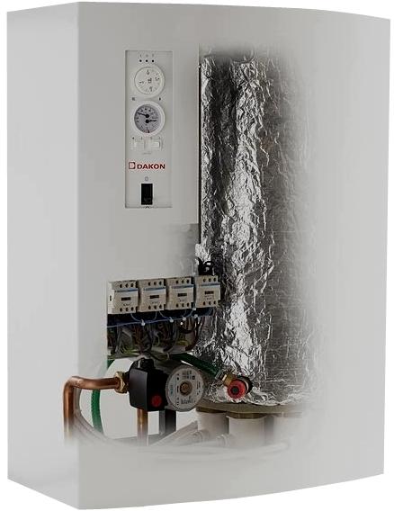 Электрокотел + циркуляционный насос