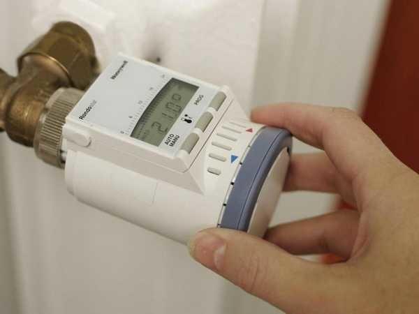 Электронная модель термоклапана
