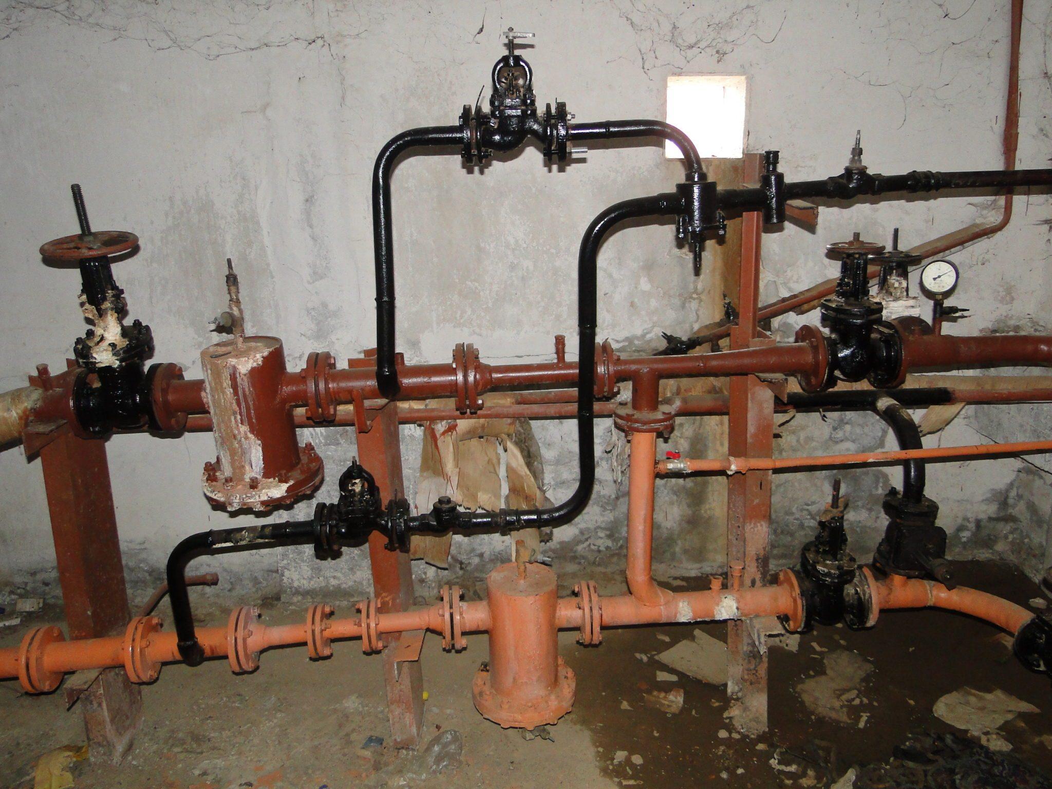 узел заполнения системы отопления схема