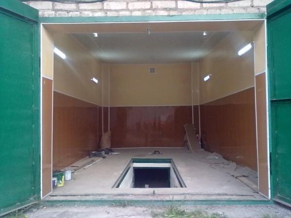 Если отделать поверхность, то гараж и вовсе преобразится