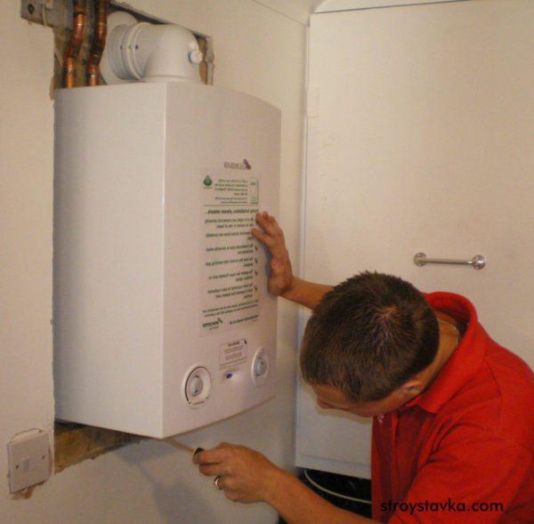 Если следовать инструкции, то подключение газового водонагревателя окажется делом не столь уж и сложным