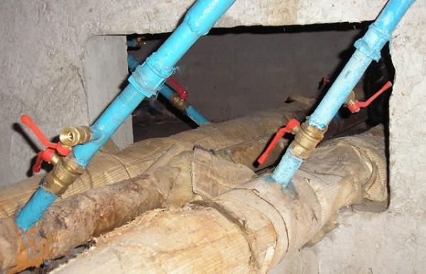 Если вместо заглушек установлены сбросные вентиля - и сброс, и запуск будут проще.
