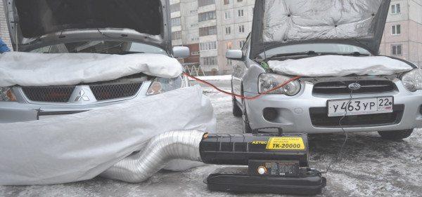 Этим универсальным устройством даже можно отогреть автомобиль.