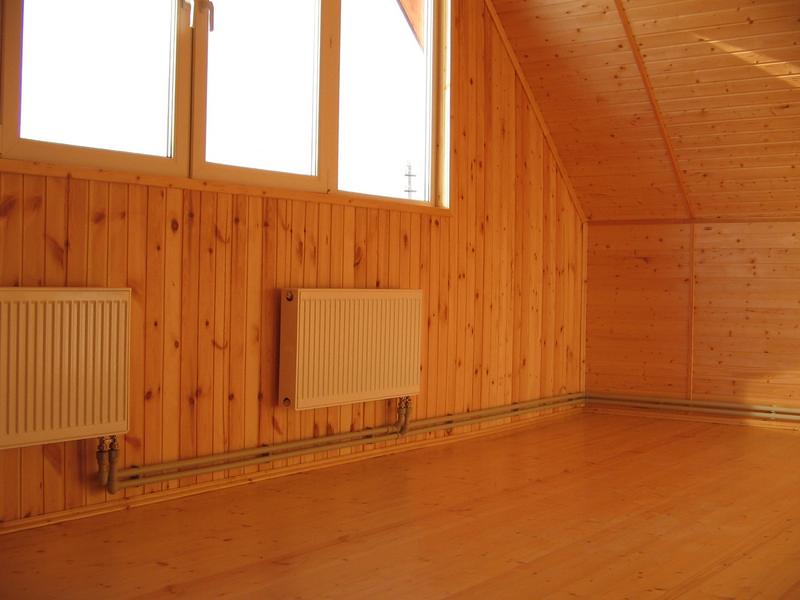 Отопление жилого дома. Фото