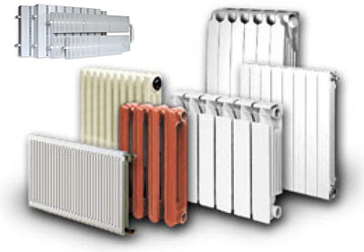 Фото радиаторов отопления.