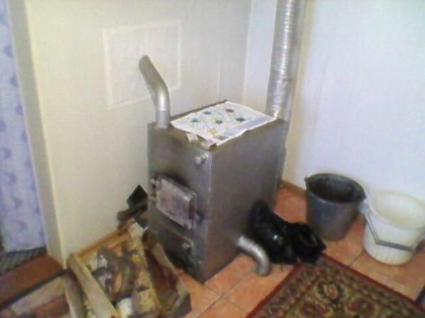 Газово-дровяной котел