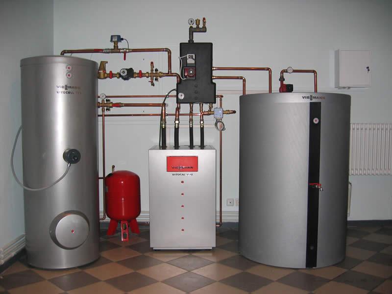 Отопление дома природным газом