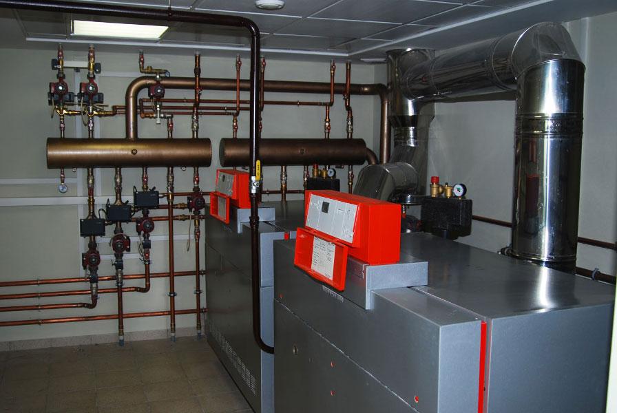 Газовые котлы отопления настенные установка
