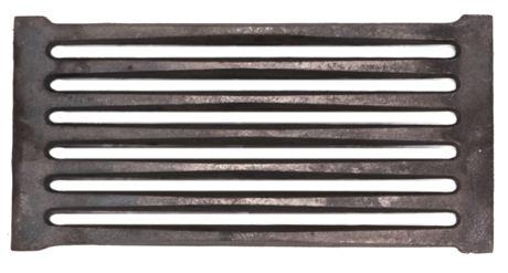 Иногда вместо чугунного колосника ставят обычную стальную арматуру. Это нежелательно: она прогорит за несколько лет, чугун же служит десятилетия