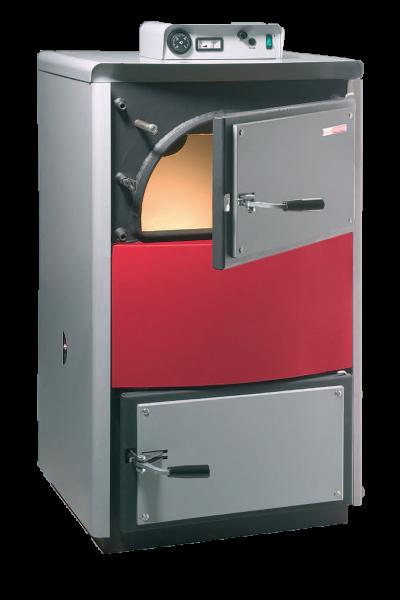 Как и все газогенераторные устройства, PYRO способен обеспечить долгую работу на одной загрузке дров.