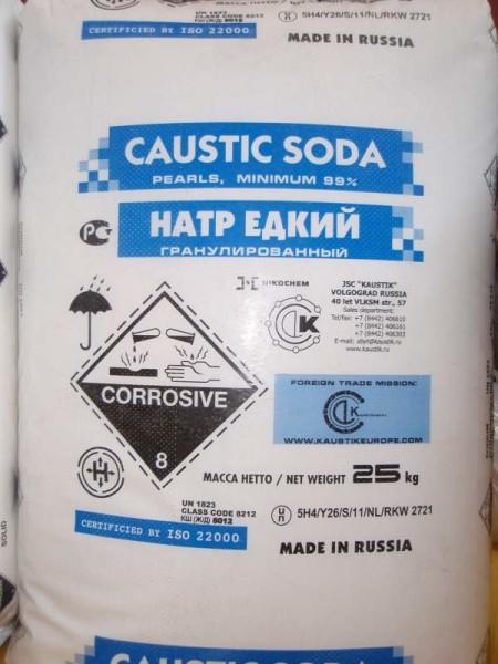 Каустическая сода - оптимальное средство для приготовления промывочных растворов