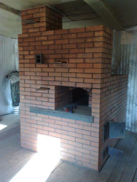 Кирпичная печь многие столетия была обязательным атрибутом каждого дома