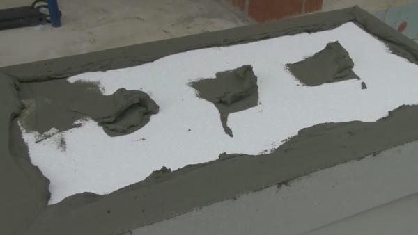 Клеевое покрытие плиты должно составлять не менее 40% от поверхности