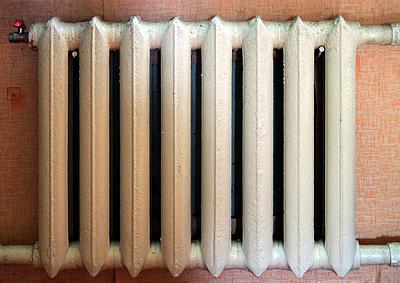 Колончатый чугунный радиатор