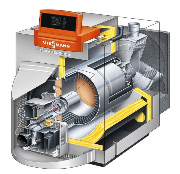 Конструкция дизельного котла отопления